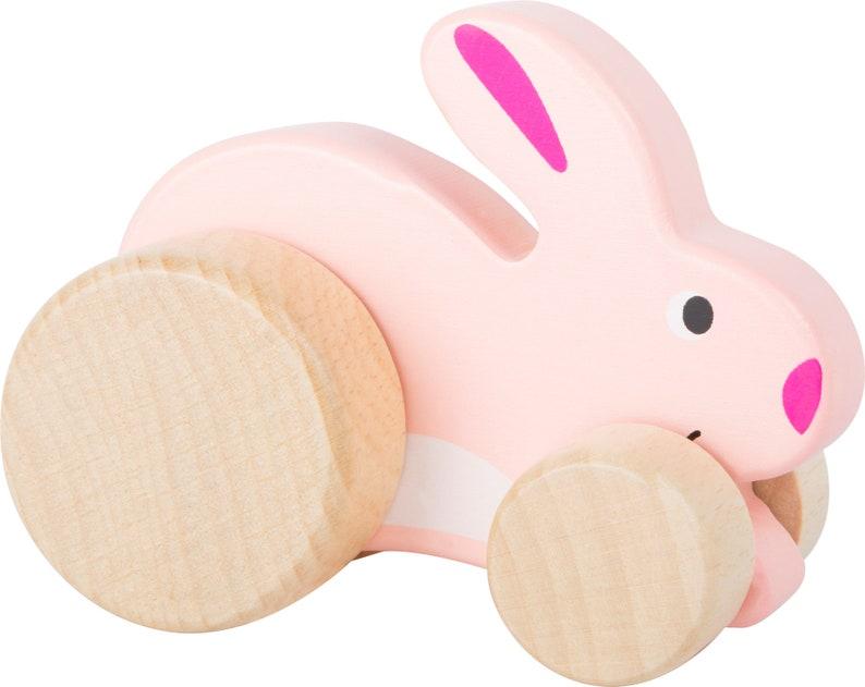 Schiebe Einhorn Luna Holzspielzeug