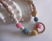 Nursing chain cloth Necklace