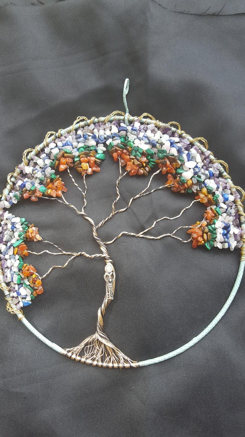 10 Chakra Tree of Life windchime