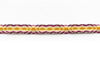 Weave - FUSSKETTCHEN- orange/ sand/ fuchsia