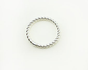 Ring - SPIRAL RING, 925 silver, fine ring, gift for her, fine silver jewelry, special wedding jewelry, twisted silver ring