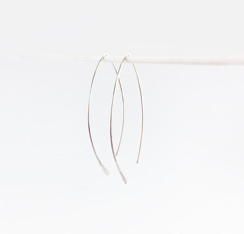 Creolen-earhook silver