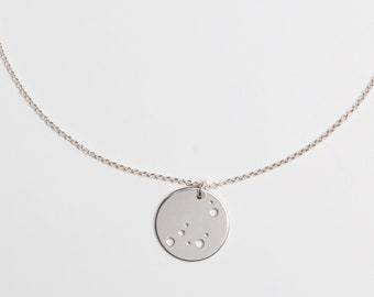 STERNZEICHENKETTE - Capricorn, 925 silver, filigree silver chain, special baptism gift, personalized silver chain, wedding gift