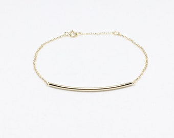 Bracelet - FILIGREE CHOPSTICK, 925 silver gold plated, gift idea for her, beautiful bracelet, silver bracelet for the girlfriend, birthday