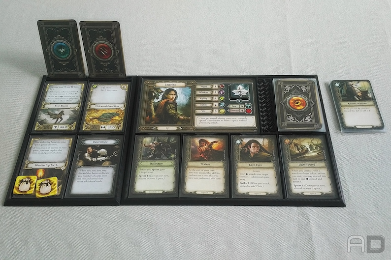 Journeys In Middle Earth Player Dashboard