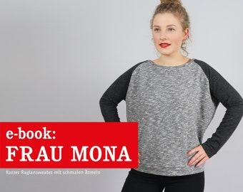 FRAU MONA Raglansweater mit schmalen Ärmeln, e-book