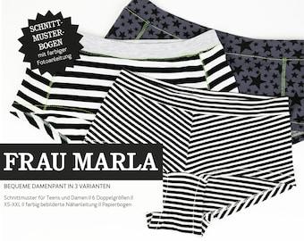WOMEN MARLA Women's Pants, PAPIERSCHNITT