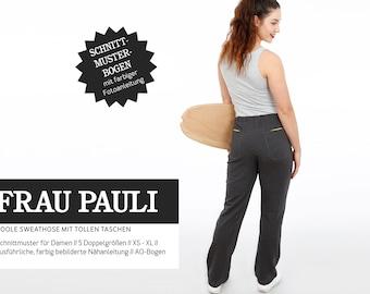 WOMEN PAULI - cool sweatpants, PAPIERSCHNITT