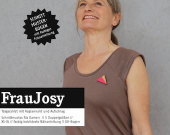 WOMEN JOSY Carrier Shirt, PAPIERSCHNITT