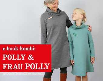 FRAU POLLY & POLLY Sweatkleider Partnerlook, e-book