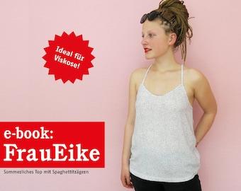 FRAU EIKE Sommertop mit Spaghettiträgern, e-book