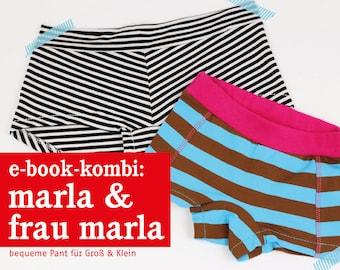 FRAU MARLA & MARLA Pants im Partnerlook, e-book
