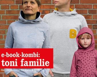 Frau Toni, Herr Toni & Toni  Kapuzensweater, e-book