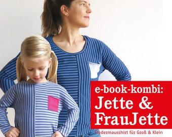 FRAU JETTE & JETTE Fledermausshirts , e-book