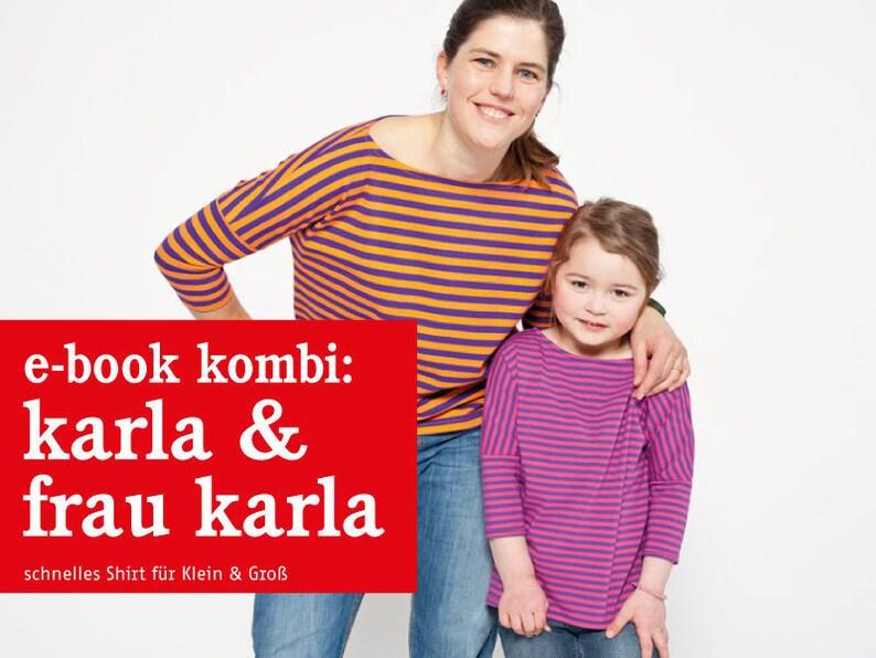 Shirts FRAU KARLA und KARLA e-book image 0