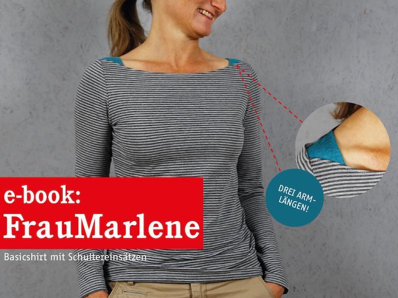 FRAU MARLENE Basicshirt für Damen e-book image 0