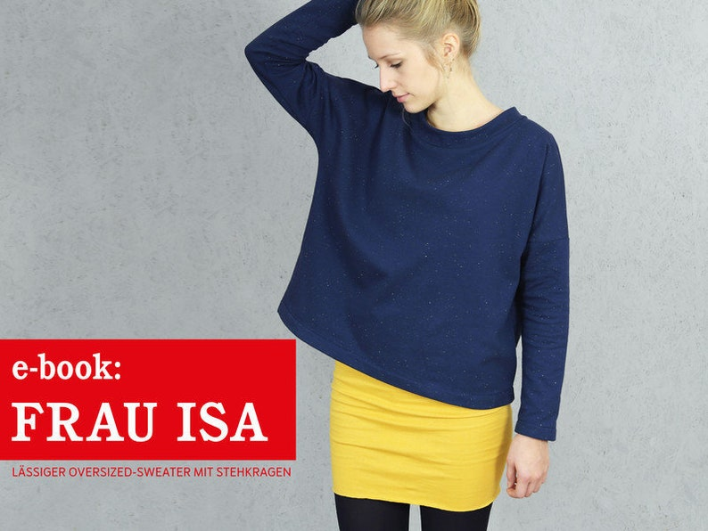 FRAU ISA oversized Sweater e-book image 0