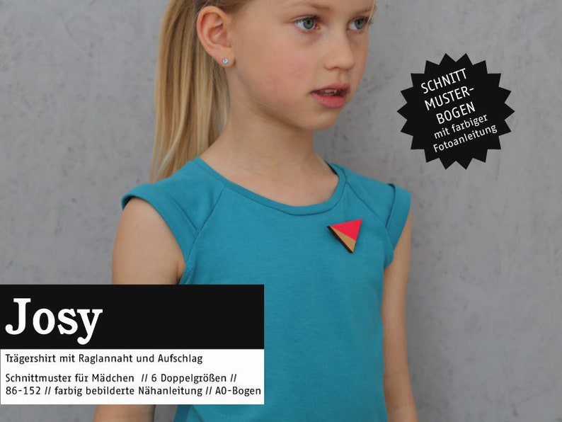 JOSY-Carrier shirt PAPIERSCHNITT image 0