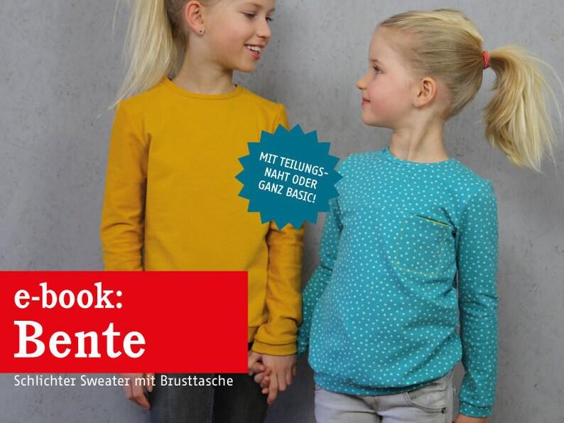 BENTE Sweater mit Brusttasche e-book image 0