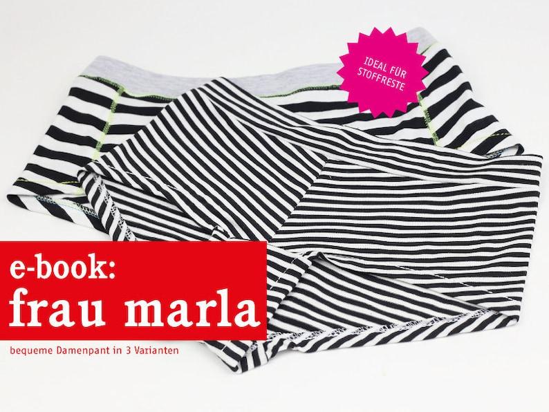 FRAU MARLA Damenpants e-book image 0