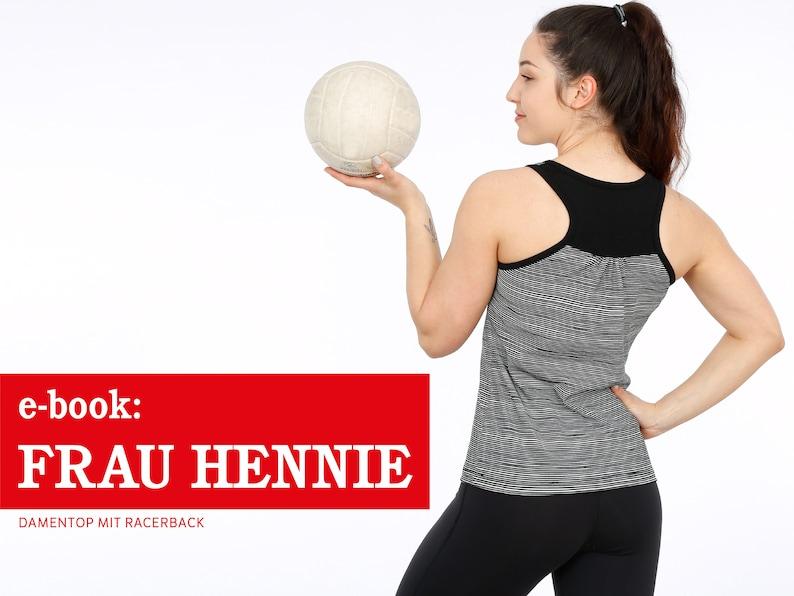 FRAU HENNIE Damentop mit Racerback e-book image 0