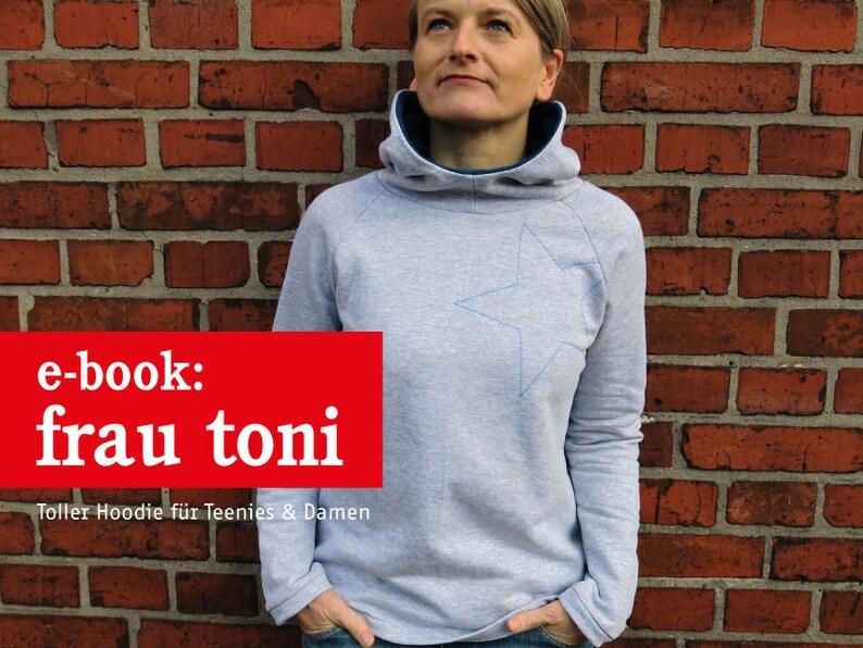 FRAU TONI Kapuzensweater für Damen  e-book image 0