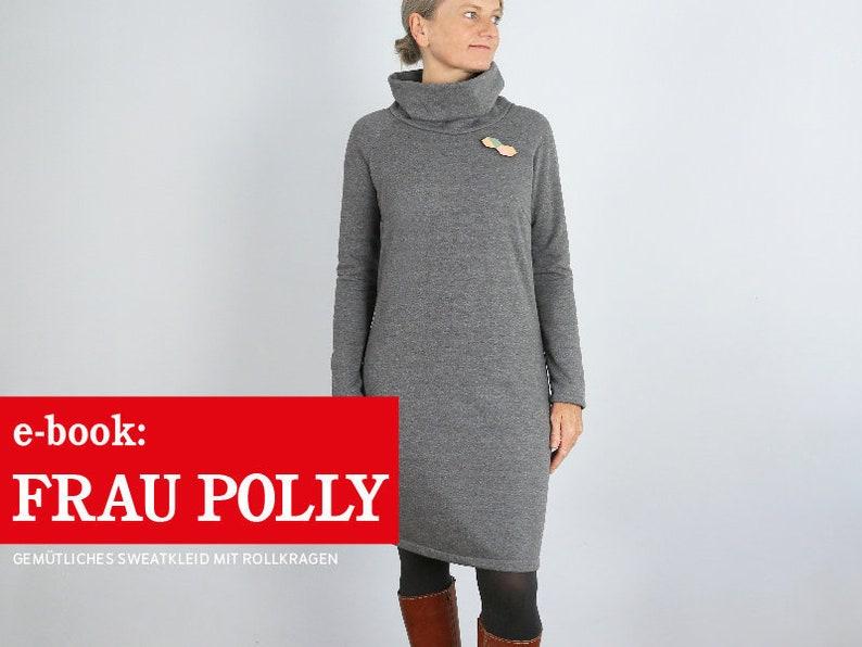 FRAU POLLY Sweatkleid mit Rollkragen e-book image 0