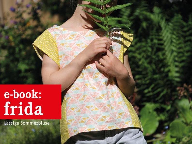 FRIDA luftige Mädchenbluse e-book image 0