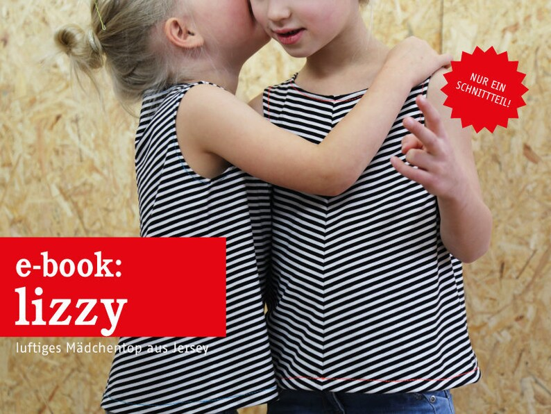 LIZZY luftiges Mädchentop e-book image 0