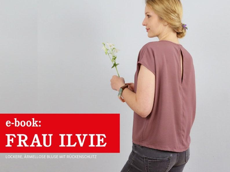 FRAU ILVIE Bluse mit Rückenschlitz e-book image 0