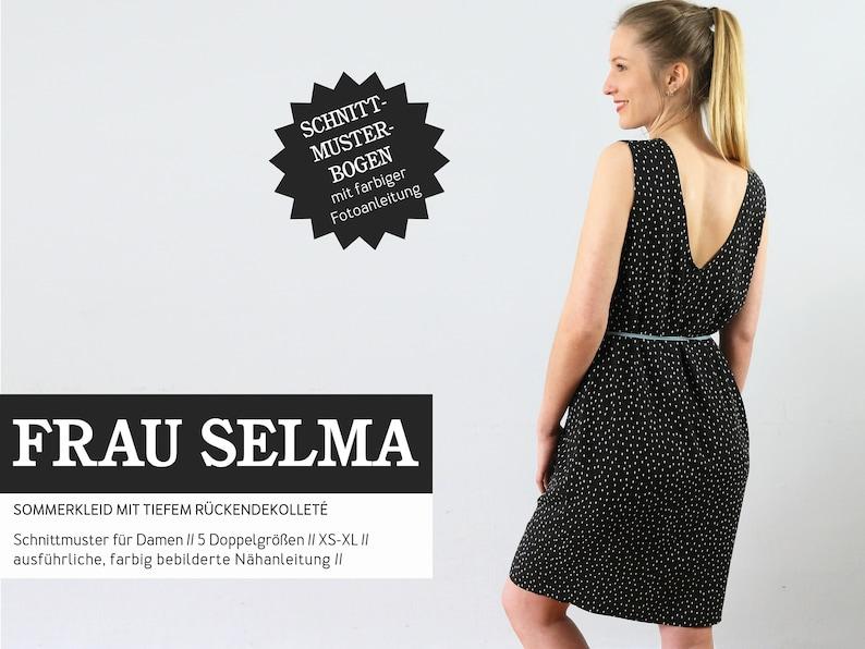 FRAU SELMA-Summer Dress PAPIERSCHNITT image 0
