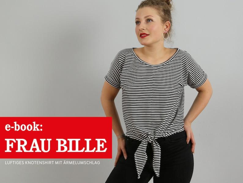 FRAU BILLE Knotenshirt e-book image 0