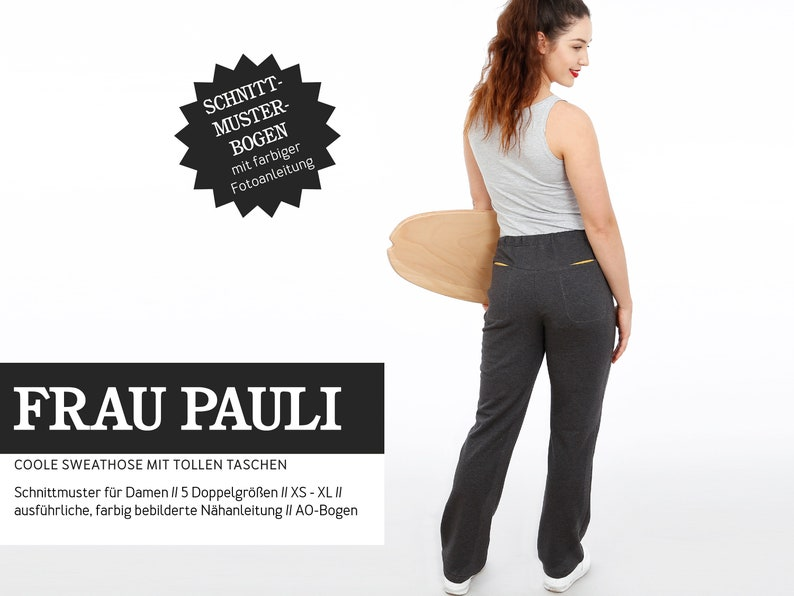 WOMEN PAULI  cool sweatpants PAPIERSCHNITT image 0