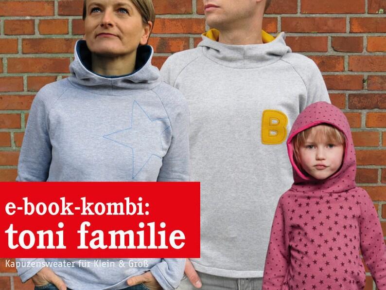 Frau Toni Herr Toni & Toni  Kapuzensweater e-book image 0