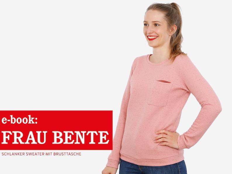 FRAU BENTE Sweater mit Brusttasche e-book image 0