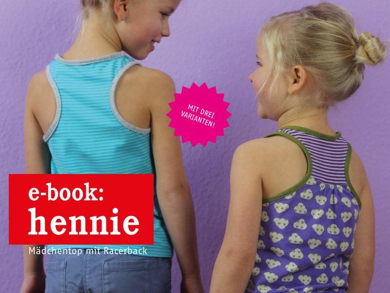 HENNIE Mädchentop mit Racerback e-book image 0