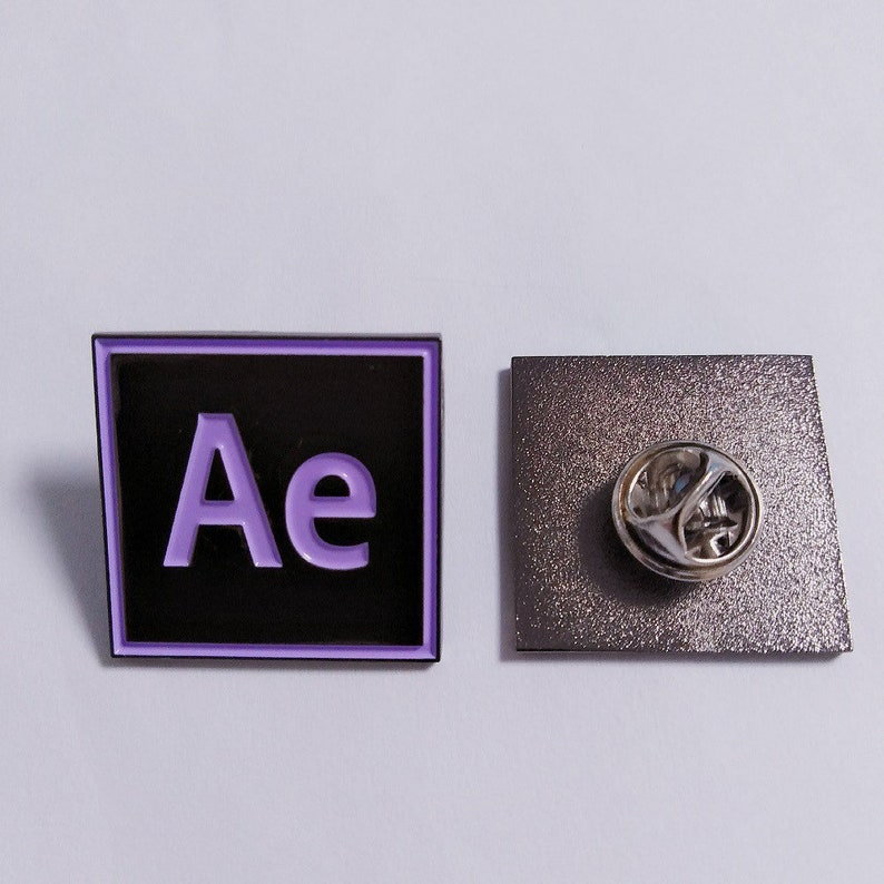 Gang Combo Pack Adobe After Effects & Premiere Pin / Pins / Graphic  Designer / Graphic Design accessories / Enamel Pin