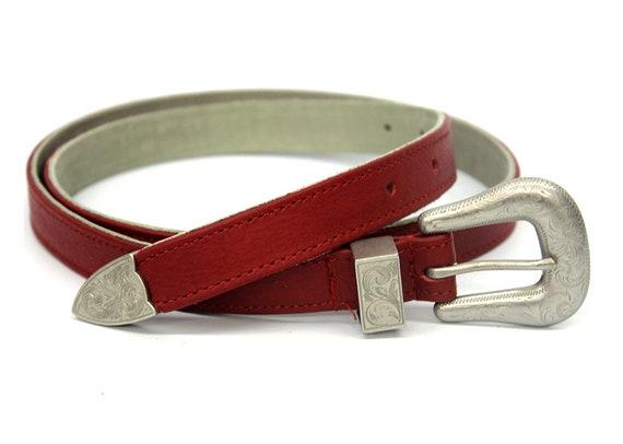 2568287768c77 Vente Ceinture rouge pour ceinture femme rouge femmes cuir   Etsy