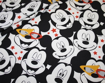 5bcdf64c3f6 Walt Disney Mickey Mouse mouse jersey Fabric