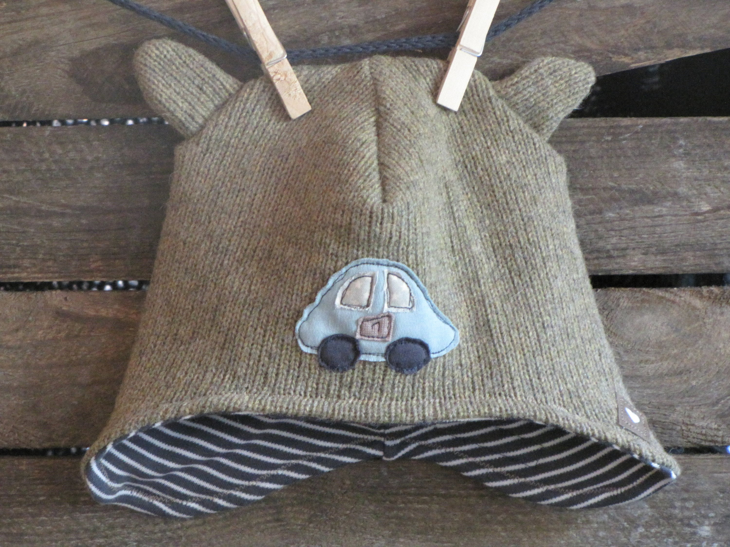 99843a6cf0d Beanie hat cap ears teddy ears child boy winter wool
