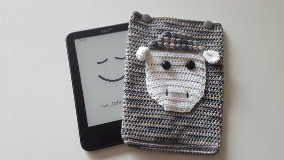 Hülle Ebook Reader Schaf Grau Tolino Kindletablet Etsy