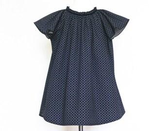 shirtkleid ringel blau kurzärmlig