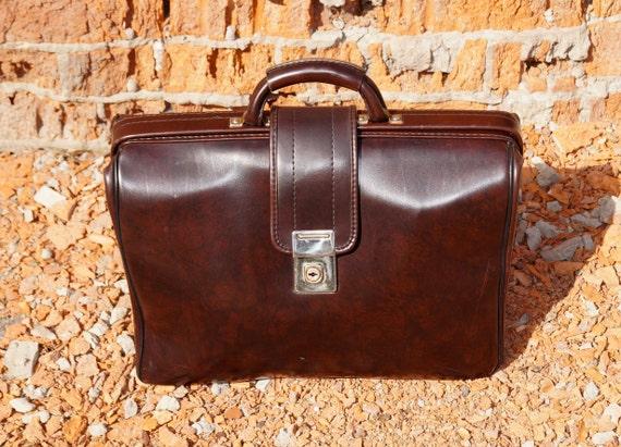 Vintage bag Men's bag Leather bag Bag accessory Re