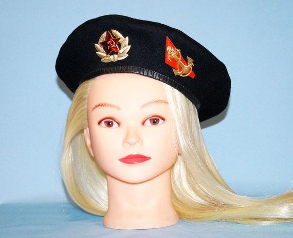 USSR Military hat Berets Beret gift Army beret Ber