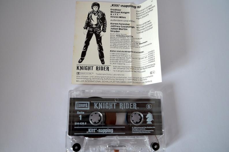 Knight Rider MC Cassette Part 6 cult radio play