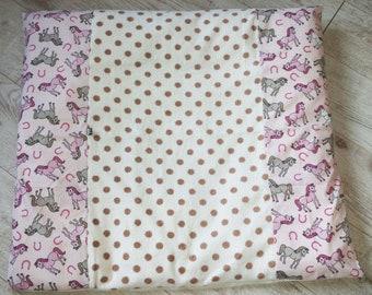Wrap dress cover Horse