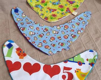 Neck scarf set Kunterbunt