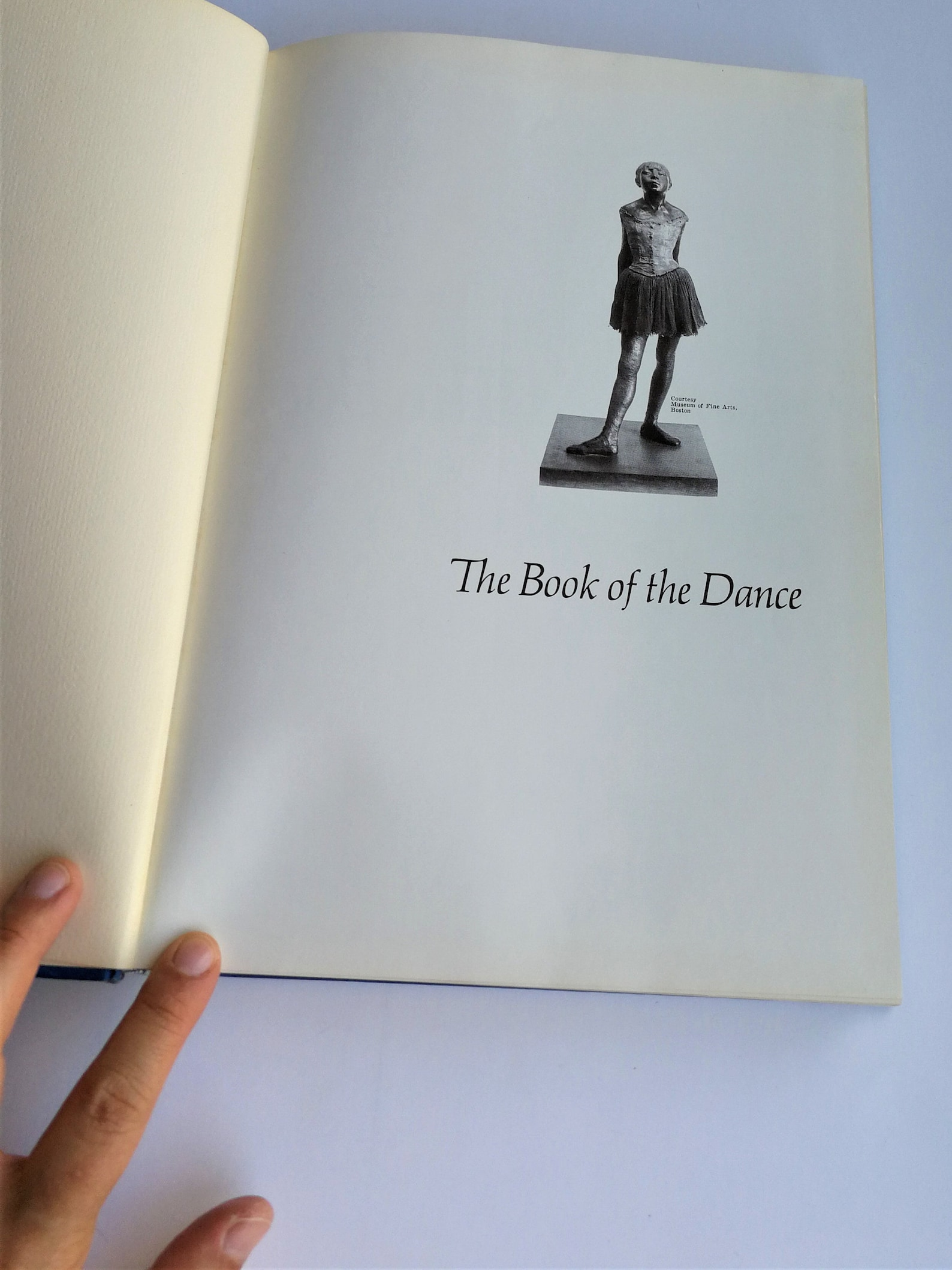 vintage 60s ballet book - the book of the dance - agnes de mille - deluxe goldencraft edition - hard cover - out of print - moth