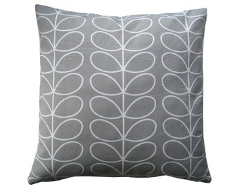 Pillowcase Pillowcase Tendrils Canvas dark grey 40x40