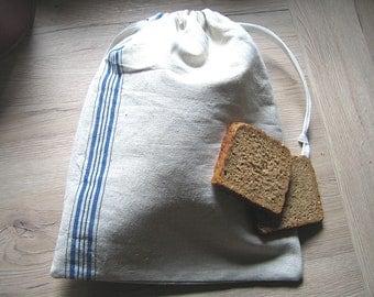 Bread bag linen strips